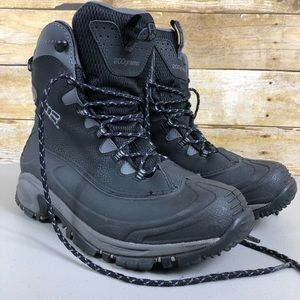 Columbia Black 200 Gram Winter Boots Sz 10